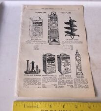 1902 Bicycle Catalog Page Illustration w Prices PAINT & TIRE SEALANT