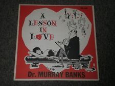 Dr. Murray Banks~A Lesson In Love~RARE Private Label~Psychology~Comedy