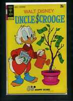 Walt Disney Uncle Scrooge #105 FN 1973 Gold Key Comic Book