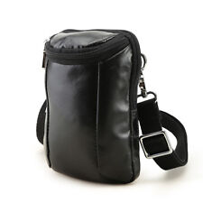 Men Real Leather Waist Bag Fanny Bum Pack Shoulder Bag Travel Work Sling Bag