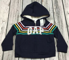 Baby Gap Boys Or Girls 12-18 Month Fleece Lined Hoodie Jacket. Nwt