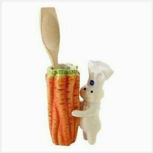 Pillsbury Doughboy with carrot Vase/Pencil Holder/Utensil Holder- NIB - LAST ONE