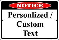 "5741 SS Customer Service Representative 4/"" x 18/"" Novelty Street Sign Aluminum"