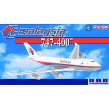 DRAGON 55942 MALAYSIA AIRLINE 747-400 MASKARGO 9M-MPR 1/400 DIECAST PLANE NEW