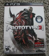 PROTOTYPE 2 RADNET EDITION WITH SLIPCOVER PLAYSTATION 3 BRAND NEW SEALED PS3