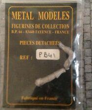 Figurini 54 mm PIECES DETACHEES PER FIGURINI NAPOLEONICI METAL MODELES PB13