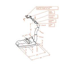 0250 MARMITTA SCARICO LEOVINCE SITO PLUS PIAGGIO VESPA PK 50 XL RUSH N FL2 HP