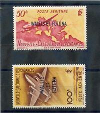 WALLIS & FUTUNA IS Sc C8-9(YT A12-3)**VF NH 1949 AIRMAIL SET $85