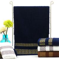 Best Soft Cotton Absorbent Terry Luxury Hand Bath Beach Face Sheet Towels##