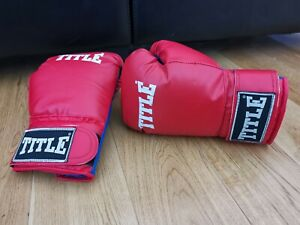 Title Boxing / Kick Boxing Gloves - Size Junior