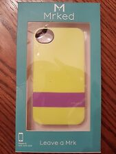 MRKED DD402 DOUBLE DUTCH COLLECTION HARD SHELL PROTECTIVE CASE FOR IPHONE 4S