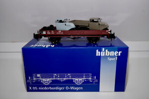 Hübner Spur 1 X05 Niederbordwagen met Tempo Hanseat Wagen (# Marklin) 2047d