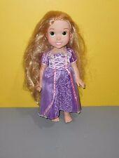 "15"" Disney Tolly Tots Tollytots Rapunzel Disney Princess Doll With Purple Gown"