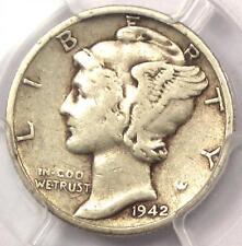 1942/1-D Mercury Dime 10C - PCGS VF Details - Rare Overdate Variety Coin!