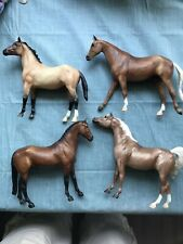 Lot Of 4 Horses~ Breyer Traditional