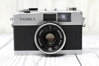 Yashica 35-ME 35mm Film Camera - Yashinon 38mm f/2.8 Rangefinder - FOR REPAIR