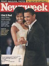 BARACK & MICHELLE OBAMA ~ Inaugural Photos ~ Newsweek Magazine ~ 2/2/09 ~ B-2-1