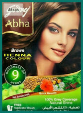 Brown Hair Color By Godrej Abha Henna Powder 60gm, Free Brush &Glove + free gift