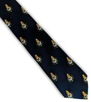 British Armed Forces regimental tie Royal Marines crest
