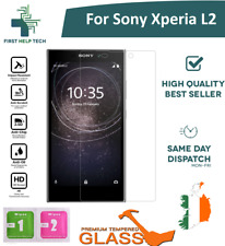 For Sony Xperia L2 - Premium Tempered Glass Screen Protector Cover Guard Film