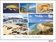 Fraser Island Australia, 28 postcards, Lake McKenzie, Dingo, Indian Head, Eli Cr