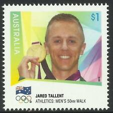 Mint Never Hinged/MNH Australian Sports Postal Stamps
