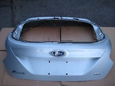 2012-2014 FORD FOCUS HATCHBACK SEL WHITE EXTERIOR TRUNK LID LIFTGATE W/O SPOILER