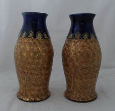 Royal Doulton Stoneware Vases by Rose Collins 1911