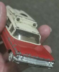 Vintage - Corgi Toys 437 Cadillac Superior Ambulance.