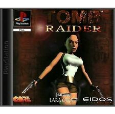 Tomb Raider - (Platinum) (Sony PlayStation 1, 1999) - European Version