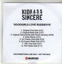 (CS111) Kid Bass ft Sincere, Goodgirls Love Rudeboys - 2009 DJ CD