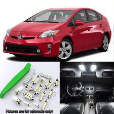 Super White 9pcs Interior LED Light Kit for 2010-2015 Toyota Prius + Free Tool