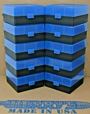 300 Black Out (10) 100 Round (Blue) Plastic Ammo Rifle Box Berry'S Mfg