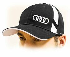 Audi Quattro baseball Cap Hat, black. Adjustable size with embroidered logo!!!