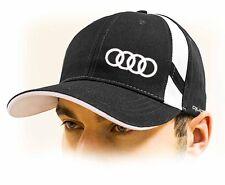 Audi Baseball Cap Hat with Quattro logo. Black color. Adjustable size!!!