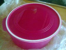 Tupper Quadro Rund 1,5L Keksdose Schüssel pink Neu