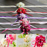 Foam Silk Rose Bridal Bridesmaid Wrist Corsage Hand flowers Wedding Accessories