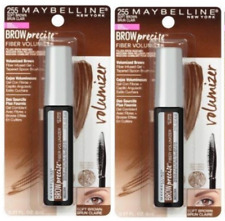2 Pack Maybelline Brow Precise Fiber Volumizer Gel Brow Mascara 255 Soft Brown