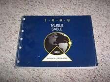 1999 Ford Taurus Electrical Wiring Diagram Manual SE NE LX SHO 3.0L 3.4L V6 V8