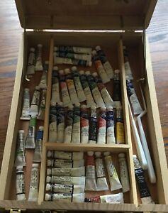 Winsor and Newton watercolour paints. Large job lot, bundle, set, clear out.