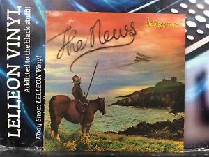 Lindisfarne The News LP Album Vinyl Record 9109626 Rock Folk 70's