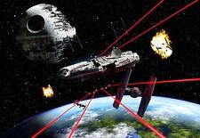 Komar Star Wars Foto Mural 8-489 Milennium Falcon 368 X 254cm Mural Cola