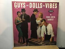 EDDIE COSTA - Plays Guys & Dolls ~CORAL 57230 {nm dg orig} [PROM0] w/BILL EVANS