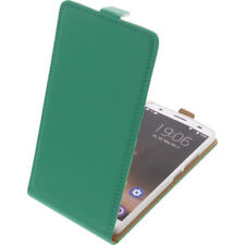 Funda para Oukitel K6000 Plus protectora Teléfono Móvil con tapa Verde
