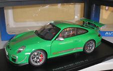 PORSCHE 911 (997) gt3 RS 4.0 verde in 1:18 di Autoart