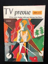 TV PREVUE Chicago Sun-Times digest September 4 1960 Ivanhoe, Boris Karloff photo