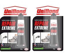 2 x UniBond Repair Extreme Power Glue Ultimate Bond 20g Tubes New FREEPOST