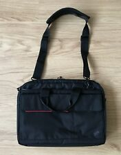 Black IBM ThinkPad LAPTOP CARRY BAG soft case travel strap messenger padded slim