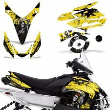 Yamaha Phazer Decal Graphic Kit Sled Snowmobile Parts Wrap RTX GT 07-16 REAP YLW