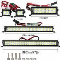 Dual-Row LED Light Bar Dachleuchte für 1/10 RC Crawler Axial SCX10 D90 TRX4 Auto